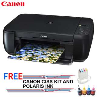 Canon Pixma MP287 Printer all-in-One and free CISS KIT & Ink