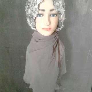 """Hijab cantik bunga"""""""