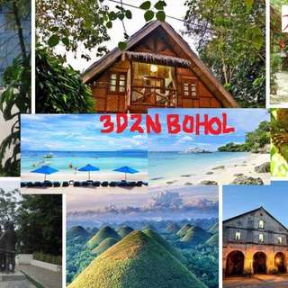 3D2N Bohol countryside+Panglao Island  Tour Package (Land arrangement)