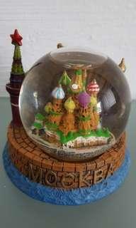 Mockba Water Globe