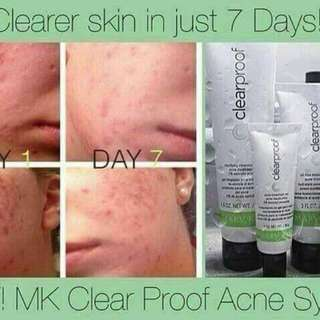 Clear proof for acne