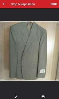 Marino Italy Pure Wool Coat (Size 52) & Pants (Size 31)