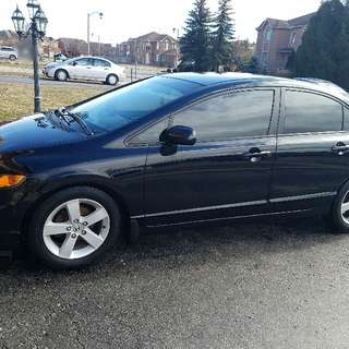 2006 Honda Civic LX Sedan - Black