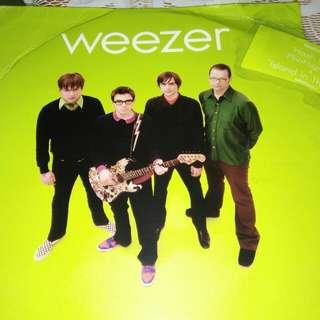 WEEZER original LP green vinyl 2001