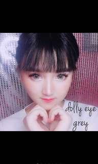 Softlens the dolly eye grey