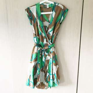 DVF Diane von Furstenburg wrap dress