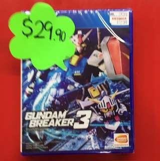 Gundam breaker 3 ps4
