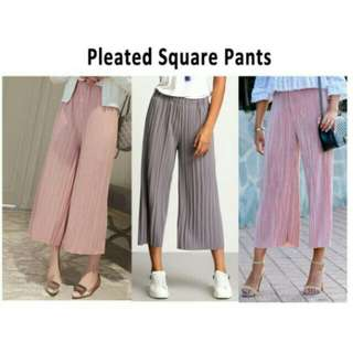 Pleated Squarepants