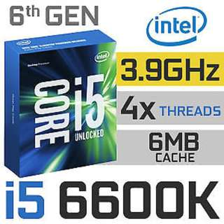 Intel i5 6600k / Asus Z170 Pro Gaming Motherboard