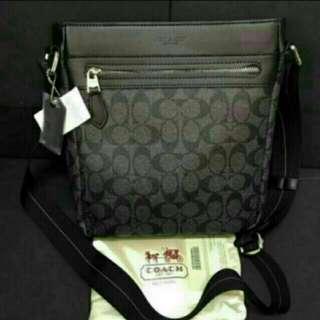 Authentic overrun sling bag