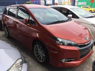 Toyota Wish 1.8 S-Pack 2012 unreg