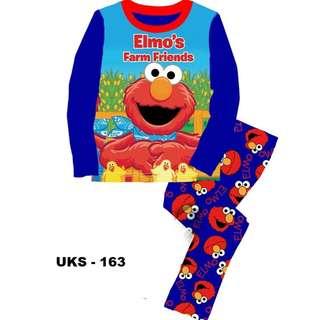 Elmo Farm Friends Long Sleeve Pyjamas For (2 Yrs To 7 Yrs)