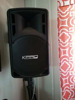 "Speakers15"" passive. (Brand: KPRO)"