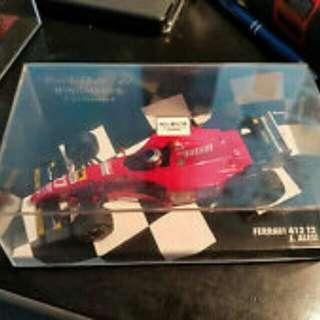 Minichamps 1:43 1995 Ferrari 412 T2 Jean Alesi