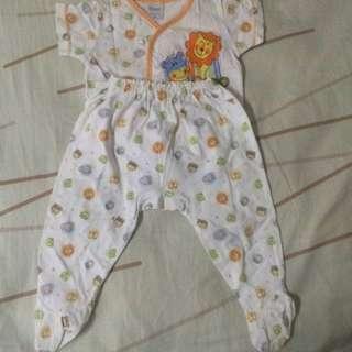 2 pc Baby Sleepsuit