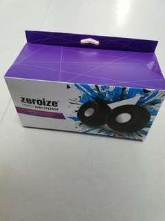 Zeroize Stereo Mini Speaker