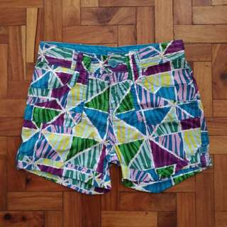 Blue Summer Shorts for Girls