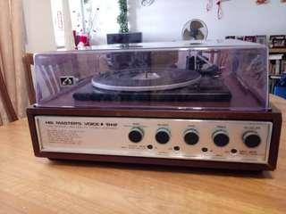 Vinyl turntable HMV