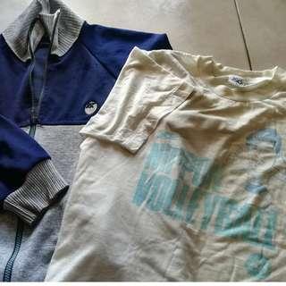 Kombo vtg Asics sweater + Olympic Asics tshirt