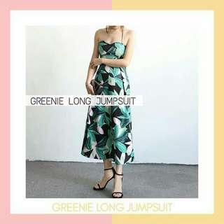 Greenie long jumpsuit