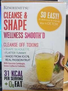 Kinohimitsu Cleanse  & Shape Wellness Smooth'D