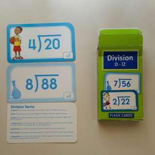Division cards