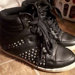 Spiked sneakers