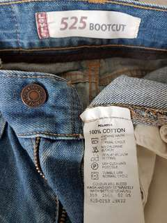 Levi's 525 Jeans for ladies