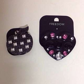 *BRAND NEW* Topshop Freedom Brooches @ $15