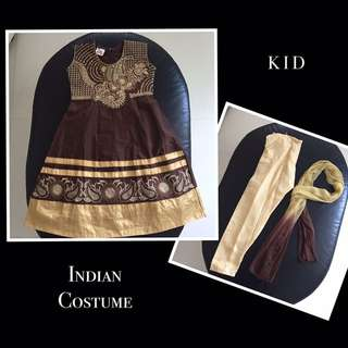 Indian Costume for Kid [Brown]
