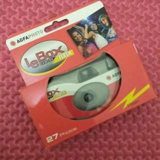 Disposable Camera Agfa Lebox [READY ONLY 3pcs]