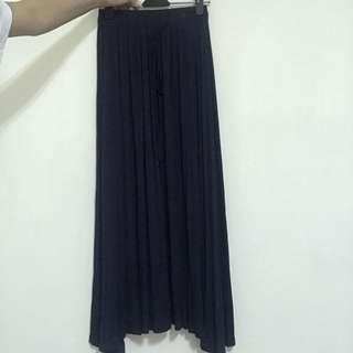 🚚 伸縮棉長裙