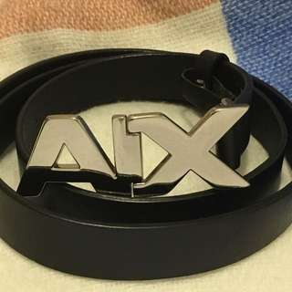 Armani Exchange AX Buckle Belt