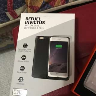 Refuel Invictuz Battery Case for iP+6