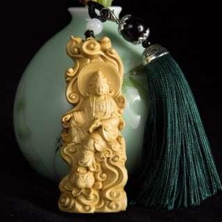 Buddha wooden guanyin 自在观音