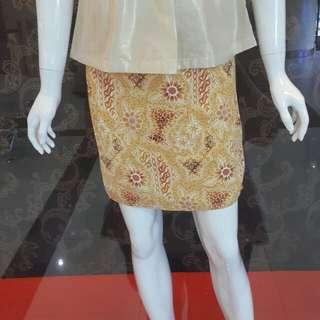 Rok span batik