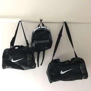 2017 Nike black sport gym bags