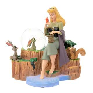 Japan Disneystore Disney Store Princess Aurora Snow Globe