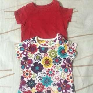 2 pc baby shirt