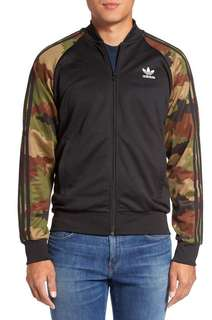 Adidas Superstar Track Jacket and Jogging Pants Camo Large