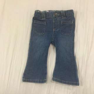 Authentic Carter's Boot Cut Jeans for baby