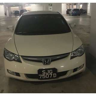 Honda Civic (UBER & GRAB Enabled)