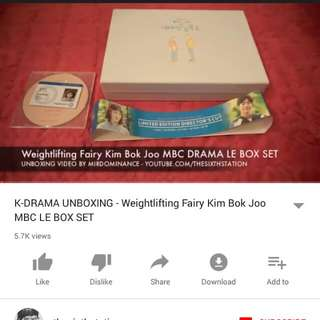 Weightlifting Fairy Kim Bok Joo MBC Limited Edition Box Set (K-DRAMA)