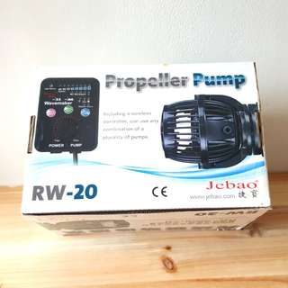 Jebao RW-20 Wave Maker with Controller for Aquarium Fish Tank