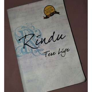 B-02 Novel Rindu (Tere Liye)