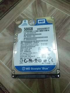 Selling HDD500