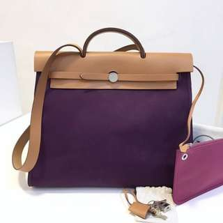 Authentic Hermes Herbag MM