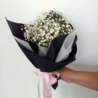 Baby Breath Bouquet - Free Delivery
