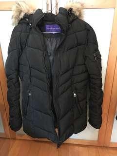 (Bought from US) Madden Girl cotton padded Jacket black 黑色夾棉厚外套褸