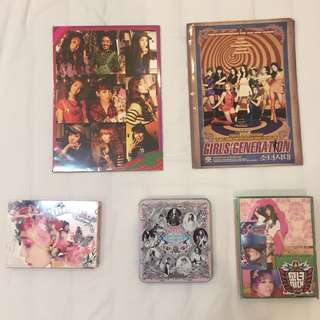 Album CD SNSD (the boys, i got a boy, twinkle) Map + Free Poster